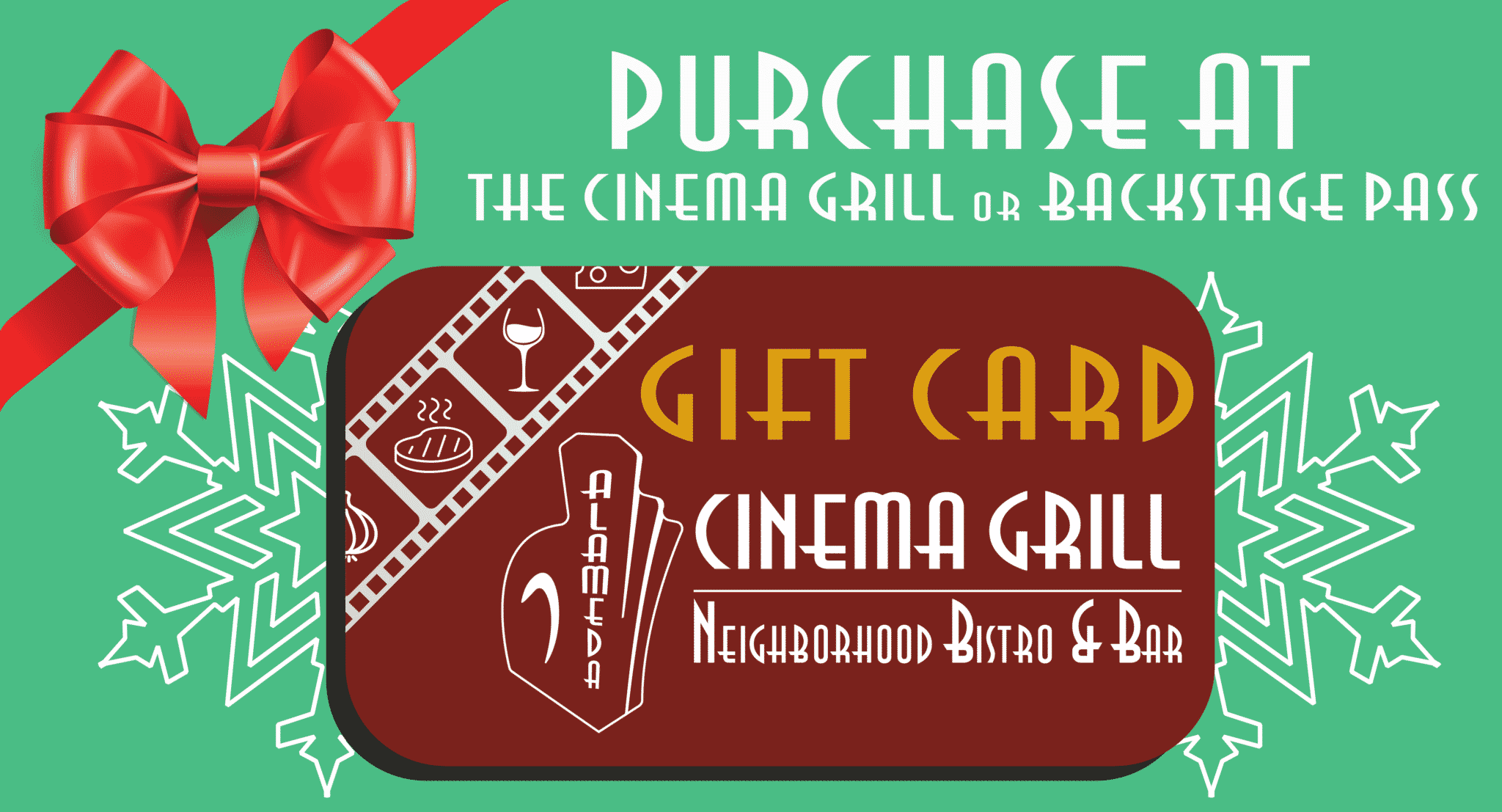 Alameda Cinema Grill Gift Card